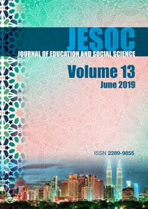 Cover JESOC VOL. 13, June 2019